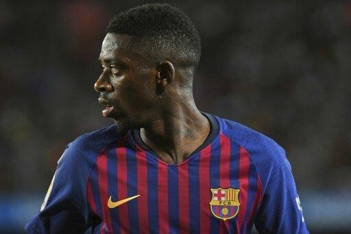 Ousmane Dembele steht gegen Sevilla nicht im Barca-Kader