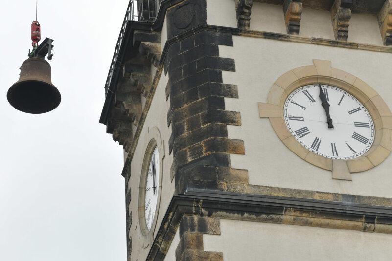 Kirchturm in Frauenstein vorerst ohne Glocken