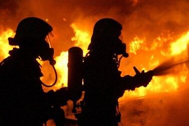 Feuer in leerstehendem Gasthof in Bischofswerda
