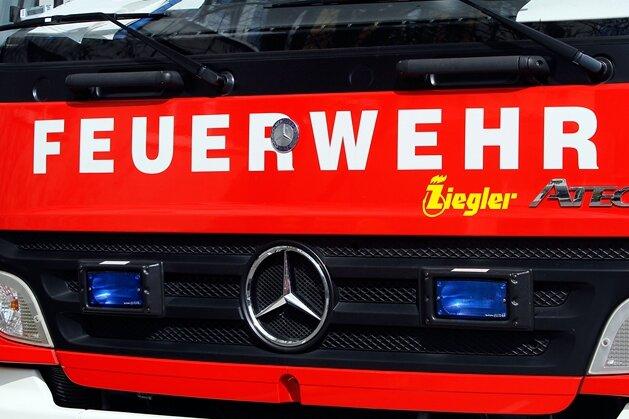 Feuerwehr im Einsatz wegen angebranntem Essen
