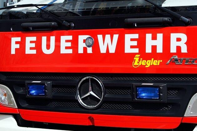 Flöhaer Feuerwehr rückt aus