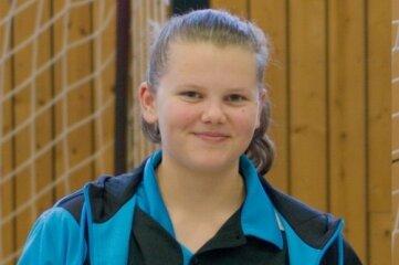 Viel Grund zum Strahlen: Celine Eulitz, die zwei Kreismeistertitel gewann.