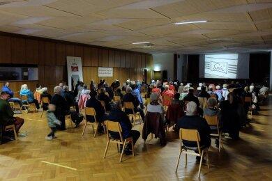 Am Wochenende ist der Esda-Film erstmals gezeigt worden - im Stift in Auerbach, dem ehemaligen Sozialgebäude des Betriebes.