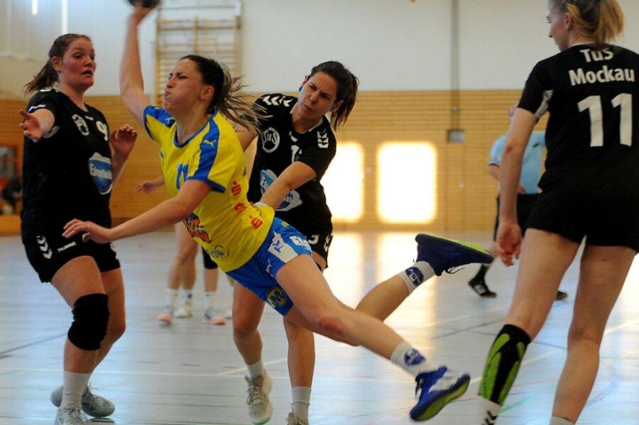 Auch Leonie Tinney zeigte sich zum Saisonauftakt in Torlaune. Gegen Leipzig-Mockau konnte sie den Ball sechsmal im gegnerischen Kasten versenken.