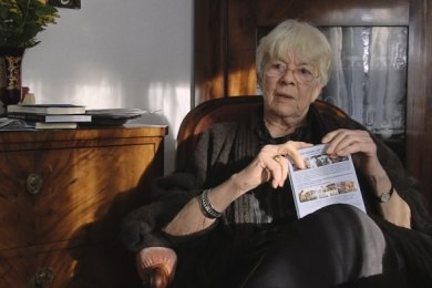 """Einblicke in ein Leben im Widerspruch: Stefan Heyms Frau Inge Heym im Interview für den Film """"Abschied und Ankunft"""""""