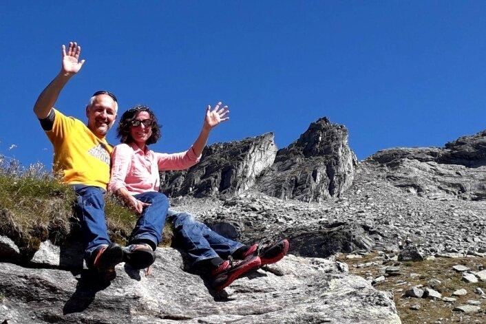 Edith Haberl und Michael Puntigam waren acht Jahre die Wirte der Plauener Hütte. Im Sommer hatten sie intern ihren Abschied angekündigt. Jetzt haben sie aufgehört.
