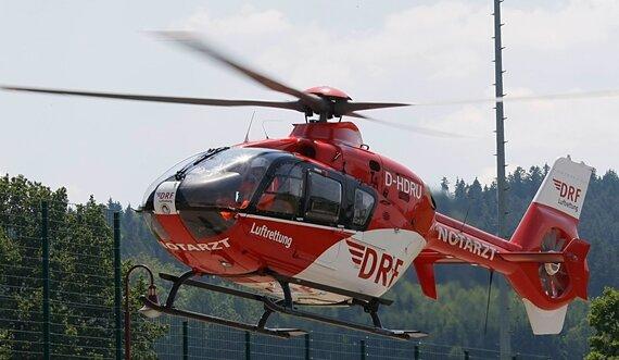 Nach Unfall: Rettungshubschrauber fliegt 12-Jährigen ins Krankenhaus