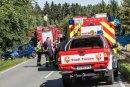 Bei einem Unfall auf der S 298 ist am Dienstagvormittag eine 67-Jährige getötet worden.