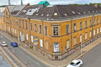 Ende August und Anfang September kann das Kunstfestival Ibug in Zwickau zwischen Stift- und Werdauer Straße besucht werden.