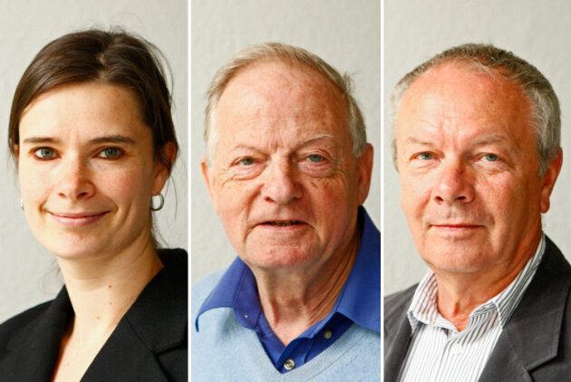 Susann Richter, Eckhart Beleites und Hans-Joachim Wierick (v.l.n.r.)