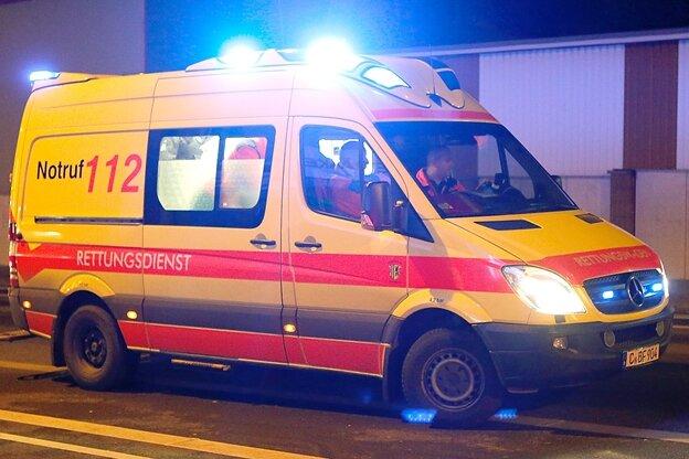 Streit in Hainichen eskaliert - Mann schwer verletzt