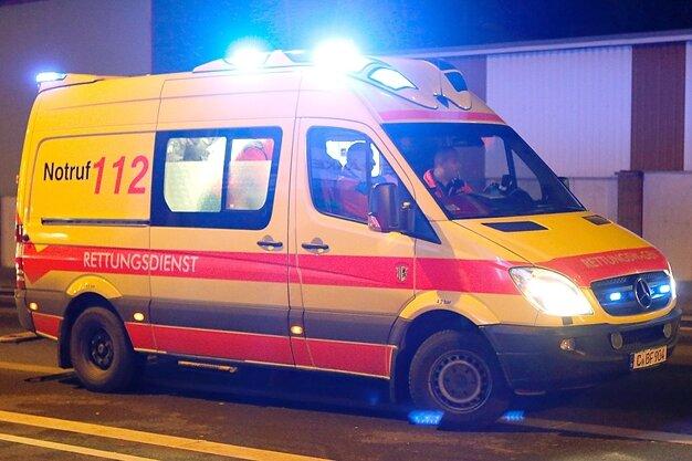 Motorradfahrer bei Kollision in Zschopau schwer verletzt