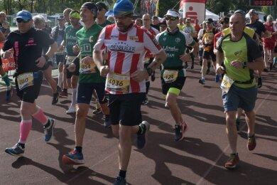 Zum Eibenstocker Drei-Talsperren-Marathon am Sonnabend werden ungefähr 1200 Aktive erwartet.