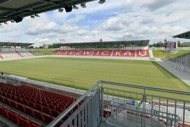 Der FSV Zwickau wird sein Heismpiel gegen den KFC Uerdingen ohne Zuschauer austragen.