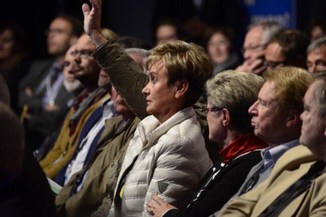 """Merkel wurde zudem mit ihrem Satz """"Wir schaffen das"""" konfrontiert."""