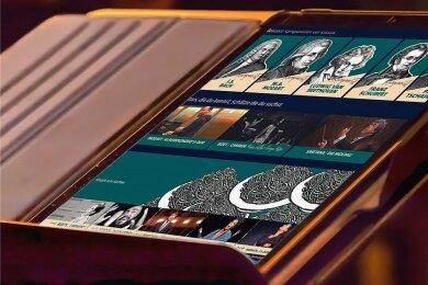 Klassik auf Fingerdruck mit der neuen ARD-Mediathek.