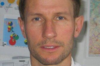 Uwe Lehmann, Referatsleiter im Landesamt für Geologie