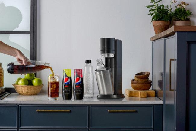 SodaStream x Pepsi Max Cherry & Pepsi Max Lime.