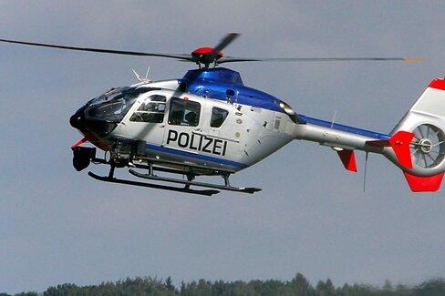 Chemnitz: Hubschrauber sucht nach Person im Gleisbereich