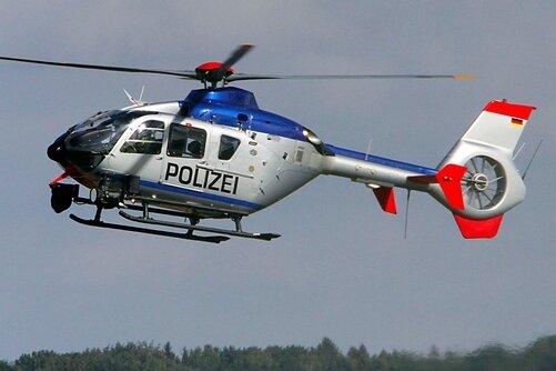 Bei der Suchaktion war auch ein Polizeihubschrauber im Einsatz.