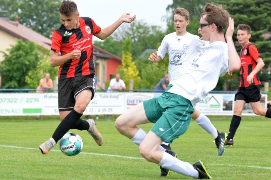 Langenauer Junioren verpassen nächste Runde im Sachsenpokal