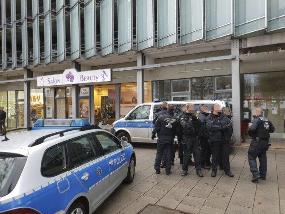 Der Laden am Rosenhof wurde am Montag geräumt. Das hatte der Vermieter GGG veranlasst.
