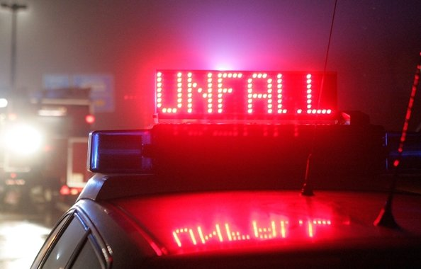 Unfall auf Zwickauer Humboldtstraße: Motorradfahrer schwer verletzt