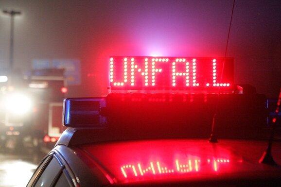 A4/Hainichen: Frau bei Unfall schwer verletzt