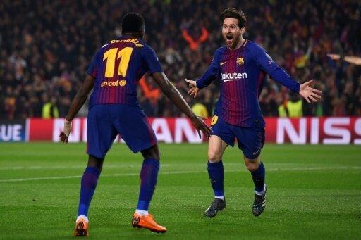 Dembele und Messi treffen - Barca eine Runde weiter