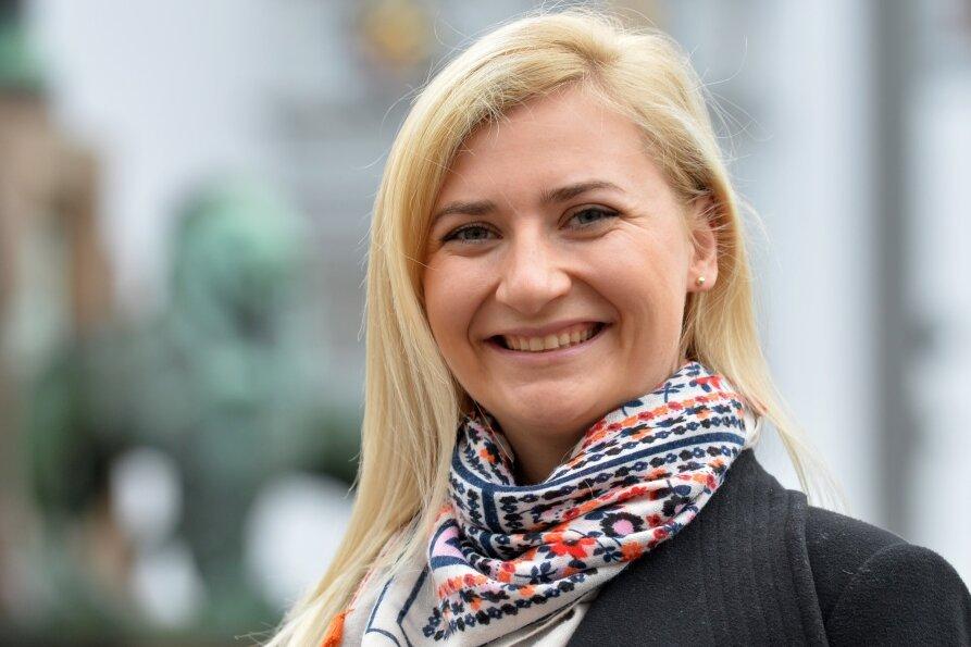 Carolin Bachmann aus Mulda möchte für die AfD in den Berliner Bundestag einziehen.