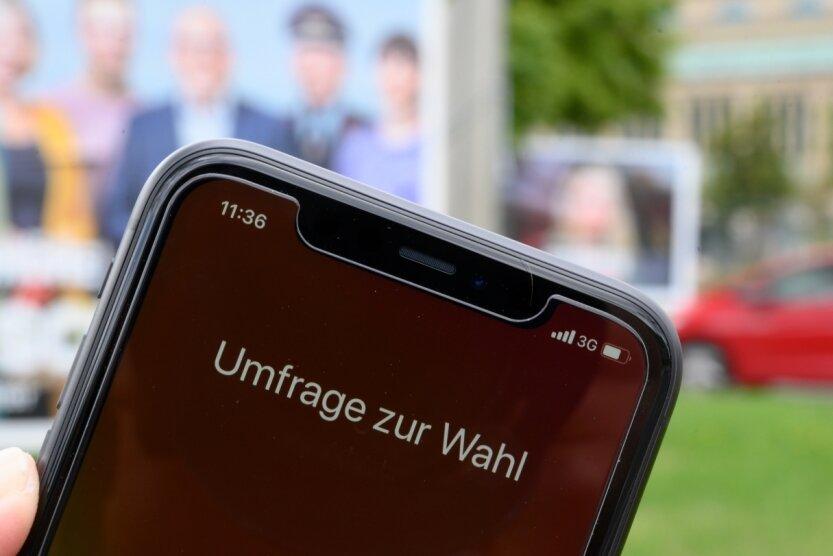 Wen würden Sie wählen, wenn am Sonntag OB-Wahl wäre? Auch diese Frage stellt das Meinungsforschungsinstitut ab heute 500 Chemnitzern.
