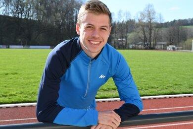 Tom Förster gehört zum Nachwuchskader des Deutschen Leichtathletik-Verbandes und möchte die EM-Norm laufen.