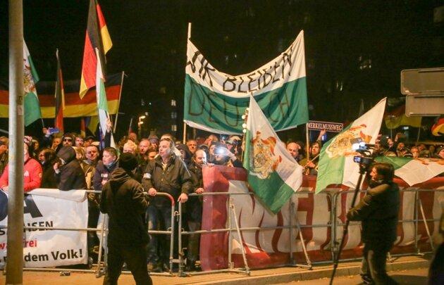 Liveticker: Das Geschehen zum Merkel-Besuch in Chemnitz