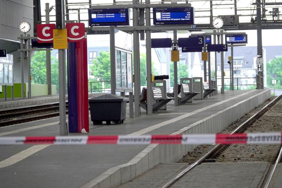Herrenloser Koffer im Chemnitzer Hauptbahnhof sorgt für Sperrung