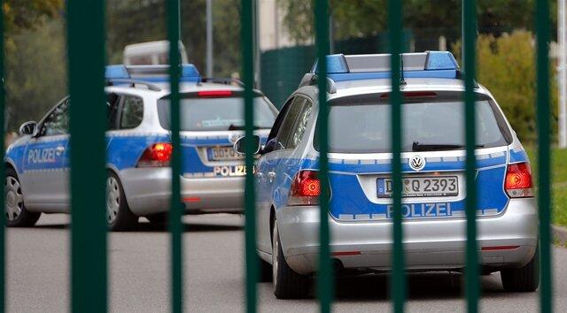 Polizei-Einsatz bei Reichsbürgerwahl