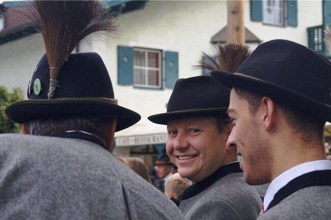 Gelebte Tradition: Zu großen Festen tragen die Bewohner von Altenmarkt Trachten.