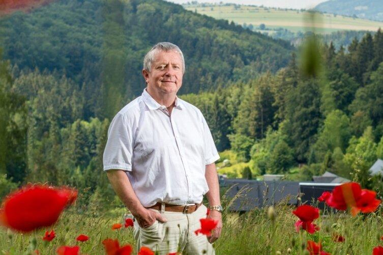 Jörg Stephan, Bürgermeister von Großrückerswalde