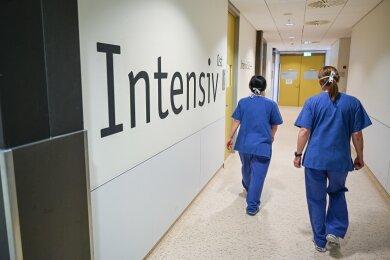 In Sachsen gibt es nur noch 63 Intensivbetten, um Corona-Patienten zu versorgen.