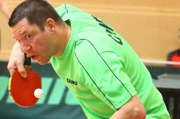 Steffen Schreiter vom TTV Blau-Gelb Marienberg schnappte sich den Titel der Männer.