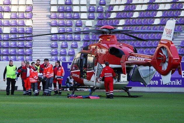 Aue: Zustand des verunglückten HSV-Fans stabil