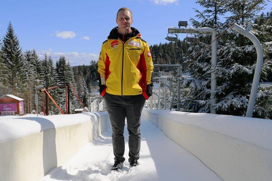 Hier in Altenberg gewann Francesco Friedrich im vergangenen Winter zwei WM-Titel. Im kommenden Winter will er das wiederholen.