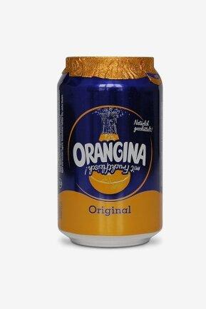 Orangina: 100 ml Orangina enthalten hierzulande 10,3g Zucker pro 100 ml. In Großbritannien sind es seit Einführung der Zuckerabgabe 4,3 g.