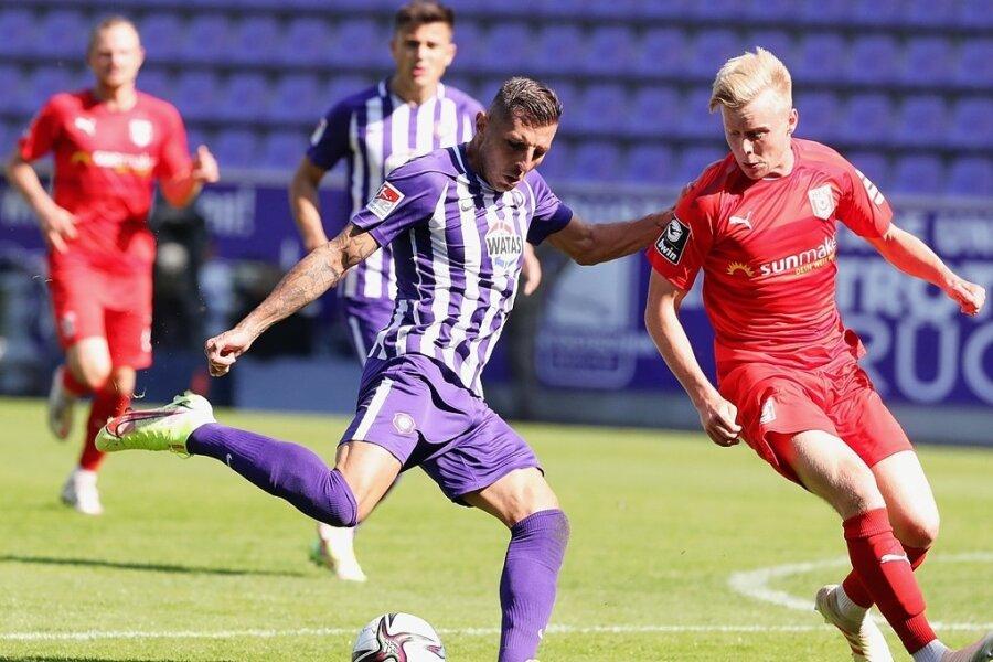 FC Erzgebirge am Wochenende: Ein Erfolgserlebnis und eine Blamage