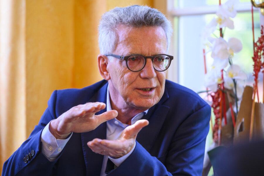 Verhandelte 1990 als Westdeutscher für ostdeutsche Interessen: der spätere Verteidigungs- und Innenminister Thomas de Maizière.