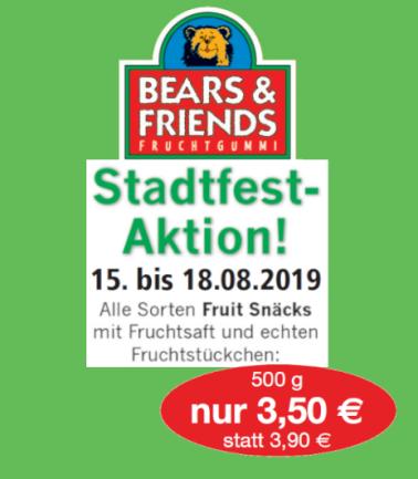 Anzeige: Bears & Friends Fruchtgummi