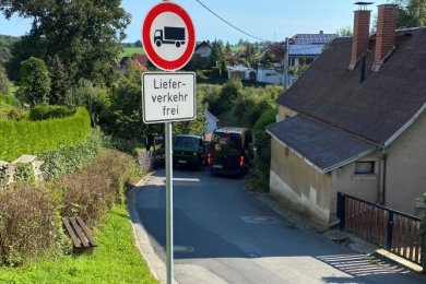 Die als Saugraben bekannte Mühlstraße war früher einmal Einbahnstraße. Anwohner wollen diese Regelung zurück.