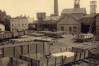 Der Bürgerschacht I der Zwickauer Bürgergewerkschaft wurde 1842 bis 1846 bis auf eine Tiefe von 412 Meter geteuft. 1961 wurde der Schacht verfüllt.