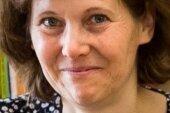 Daniela Geißler - Leiterin der Leukersdorfer Bibliothek