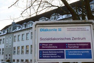 Die Stadtmission will in diesem Haus an der Lothar-Streit-Straße in Zwickau ihre Verwaltung unterbringen.
