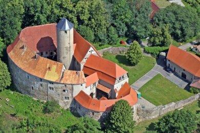 Die Burg Schönfels öffnet zur Nacht der Schlösser für Besucher. Foto: Ralph Köhler/Archiv